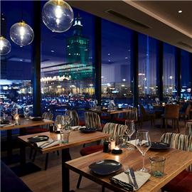 Floor No 2 Restaurant - view of city center