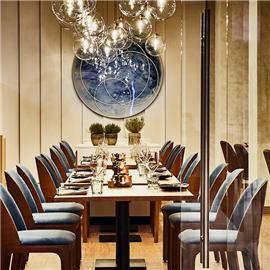 Restauracja Floor No 2 w hotelu Marriott w Warszawie